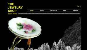 Handcrafted Jewelry Websites 20 Crafty Ecommerce Website Templates For Your Handmade Business