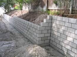 Small Picture Dimensions 7 Concrete Block Retaining Wall Design On Concrete