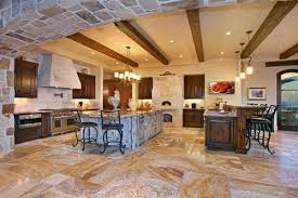 Large Farmhouse Kitchen Table Timeless Tuscan Farmhouse On Californian Coast Idesignarch