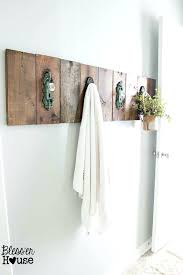 towel hanger ideas. Delighful Ideas Bathroom Towel Bar Ideas Stylish Holder In Best Racks  On Wood Plans 9   Intended Towel Hanger Ideas