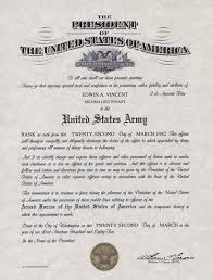 Promotion Certificate Template Army Officer Promotion Certificate Template Officers Promotion