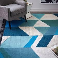 roselawnlutheran best modern wool rugs geo wool kilim rug west elm