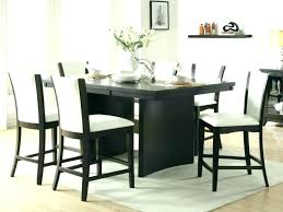 black glass table and chairs dining room glass table small round dining room sets glass table