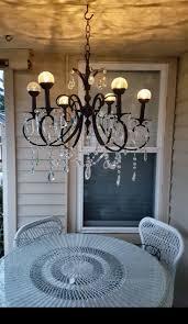unique solar chandelier ideas on patio near old lightsoor lighting chandeliers for gazebos