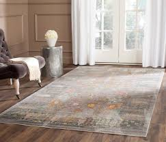 grey fl design safavieh area rug with wooden floor also leather sofa for pretty living room design