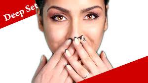 deep set eyes makeup tutorial how to apply eyeshadow for deep set eyes you