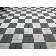 vinayaka traders offering black and white cement interlocking floor tile at rs 40 piece in kochi kerala get best and read about pany and