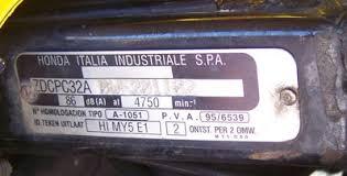 Honda Vin Identification Chart Identify My Model Parts For Honda Motorcycles David