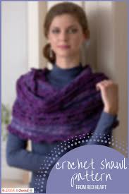 Red Heart Free Patterns Custom Free Pattern Friday Crochet Shawl Pattern From Red Heart Stitch