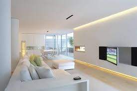 Image Recessed Lighting This Living Room Uses Bit Recessed Lighting But The Majority Of The Light Is Home Stratosphere 40 Bright Living Room Lighting Ideas