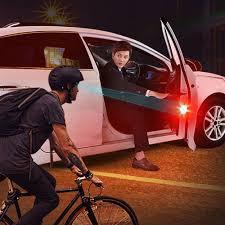 <b>2X</b> Universal <b>Car</b> LED Opening <b>Door</b> Safety <b>Warning</b> Anti collision ...