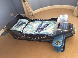 kidkraft airplane toddler bed aeroplane