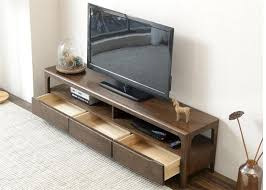 L Hotel Rooms Modern Style Living Room TV Stand Strong Structure Color  Optional