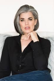 Korte Kapsels In Donker Grijze Grey Beautiful Hair Kapsels