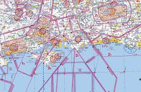 Caa England South Chart Operational Tips For Vfr And Ifr In Europe