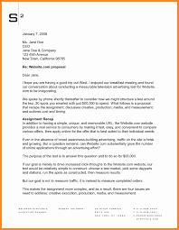 Business Proposal Letter Sample Format Piqqus Com