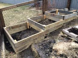 how to build raised garden beds on a slope or hillside easy simple and free or