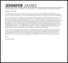Sample Cover Letter For Child Care Director Granitestateartsmarket Com