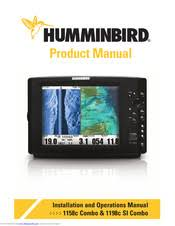 Humminbird 1158c Combo Installation And Operation Manual Pdf