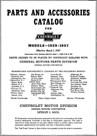 1929 1957 chevrolet master parts accessories catalog rh chevy oldcarmanualproject chevrolet parts diagrams chevrolet parts
