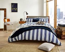 sy peacock blue navy stripe nautical duvet cover set willis nautical navy blue stripe duvet cover