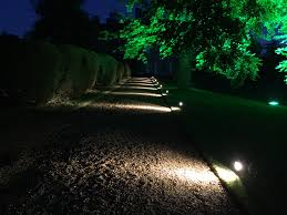 outdoor party lighting hire. event stage, show \u0026 party lighting outdoor tree garden spike led uplighting hire i