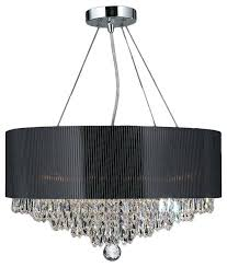 shade crystal chandelier bubble