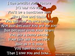 Love My Son Quotes Cool I Love You Messages For Son Quotes WishesMessages