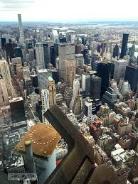 city view from the 2nd deck of the empire state building in new york city