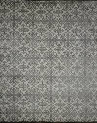 i 8250 jaipur bamboo silk hand knotted wool and silk india rug