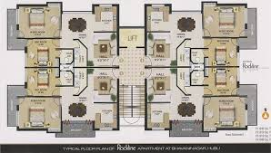 Apartments Plans Designs Concept