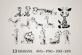 Svg cut files for cameo, cricut, silhouette.craft it! Giraffe Clipart Graphic By Euphoria Design Creative Fabrica In 2020 Graphic Design Pattern Design Cartoon Art Styles