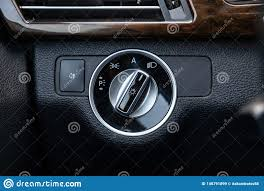 Lights Dimming In Car The Dashboard Of The Car S Interior Is Black With A Dipped