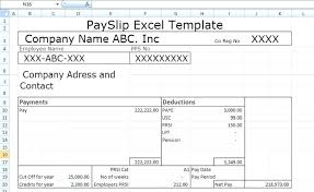 Download Payslip Template