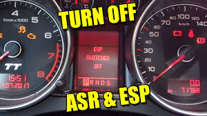 2004 Audi A4 Abs And Esp Light On