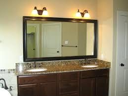 above mirror lighting. Bathroom Frameless Mirror Lights Vanity Rustic Sconces Above Bowl Ceramic Flower Vase Classic Lighting S