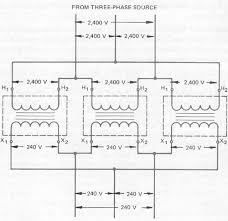single phase transformers connected in delta Three Phase Transformer Wiring Diagram 8 wiring diagram of delta delta connection transformer wiring diagrams three phase