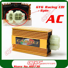 popular scooter ac racing cdi buy cheap scooter ac racing cdi lots gy6 ac fired 6 pin racing cdi 125cc 150cc 200cc scooter moped atv go cart motorcycle