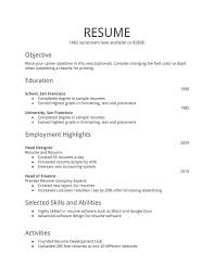 How To Make An Resume Interesting make a new resume free resume template evacassidyme