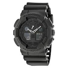 casio g shock classic series analog digital black dial men s watch casio g shock classic series analog digital black dial men s watch ga100 1a1cr