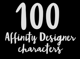 100 Affinity Designer Characters On Behance