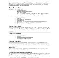 What To Put In Summary Of Resume How To Write A First Resume How To