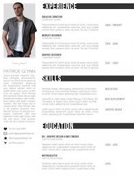 Creative Resume Templates For Website Designer And Graphic Designer ...