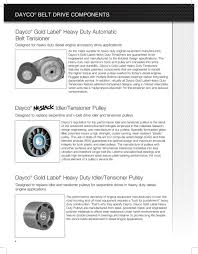 Dayco Pulley Size Chart Products Guide Dayco Products Llc Pdf Free Download