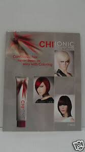 Details About Chi Ionic Ammonia Free Permanent Hair Color Poster Swatch Chart For Wall