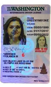 Issued Prior driver's still In 02 To Washington Id 2017 Use Id License Security Sample Features But
