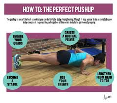 Perfect Pushup Exercise Chart Breakdown Of The Perfect Pushup Early To Rise
