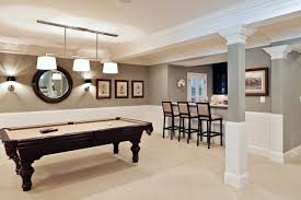 ... Home Accecories:Decor Tips Tray Ceilings And Interior Paint Color With  Recliner Inside Houzz Basement ...