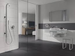 Badezimmer Grau Weiß Wohnideen
