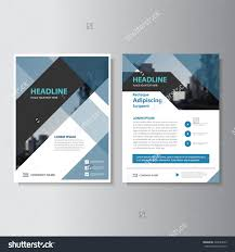 blue and black abstract corporate leaflet brochure flyer template blue and black abstract corporate leaflet brochure flyer template design book cover layout design vector